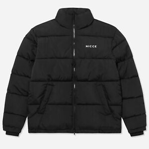 Mens-Nicce-Deca-Jacket-Puffer-Long-Sleeve-New