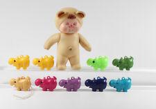 Pampolino / Hohe Pampers === 10 Werbefiguren Nilpferd + Baby
