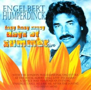 Engelbert-Humperdinck-Lazy-Hazy-Crazy-Days-of-Summer-CD-ALBUM-2003