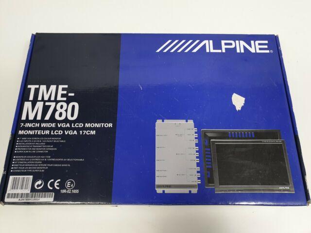 ALPINE  Mobile Color Monitor  Unit LCD Color Module TME-M750