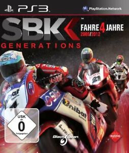 PS3 Game SBK Generations 2009 - 2012 Fim World ...Ps3 Games List 2012