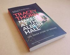 TRACEY THORN Naked At The Albert Hall 2015 UK promo proof paperback book