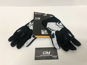 Thor Spectrum Mens MX Offroad Gloves Black//White