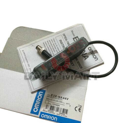 OMRON E3X-NA44V PHOTOELECTRIC SWITCH OPTICAL FIBER AMPLIFIER 12-24VDC PLC NEW