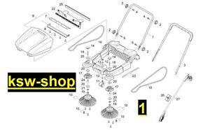 k rcher original ersatzteile f r kehrmaschine s 650. Black Bedroom Furniture Sets. Home Design Ideas