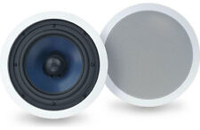 "SAVE!! Polk Audio RC-80i 8"" In-Ceiling Speakers 8-inch, 100 Watts. 1Pair. Refurb"