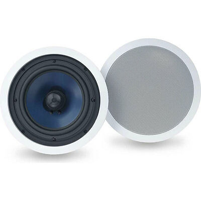 "SAVE!! Polk Audio RC-80i 8"" In-Ceiling Speakers 8-inch, 100 Watts. 1Pair. Refurb"