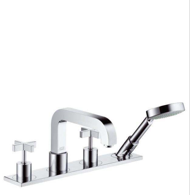 Hansgrohe 39456821 AXOR Citterio 4 Hole Roman Tub Set Trim Brushed ...