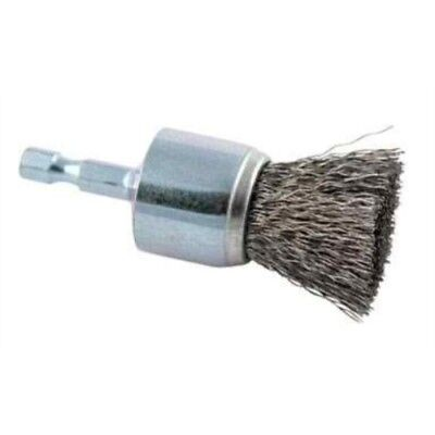 """Forney Crimped Wire End Drill-Mounted Wire Brush 1/"""""""