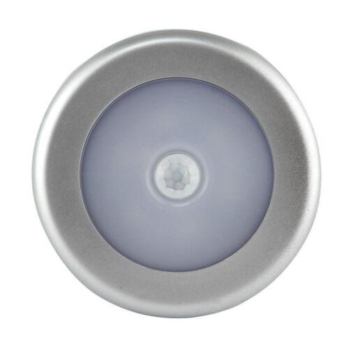 Wireless Night bulb PIR Motion Auto Sensor 6 LEDS Lights Battery Operated Lamp