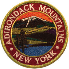 Mountain Patches Adirondacks Embroidered Hiking Patch