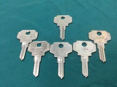 Set Of 6 Locksmith New Varieties Are Introduced One After Another Liberal Bargman By Curtis In26 & In27 Key Blanks