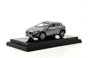Coches-modelo-1-64-escala-1-64-Diecast-Car-Original-Infiniti-QX30-Gris