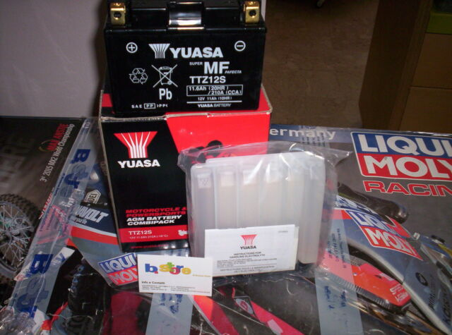 Batería Yuasa TTZ12S-BS Honda Original 600 Silver Wing 01-14
