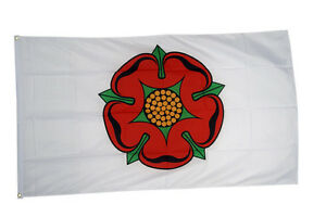 English County Lancashire Flag 5 x 3 FT Flag 100/% Polyester With Eyelets