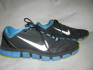 0feee854b NIKE Free 7.0 Mens Trainer Sneaker Sz 15 Black Blue Sneakers 524311 ...
