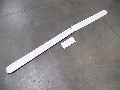 2011 Nissan Frontier Left Rear Door Exterior Moulding Molding Trim WHITE