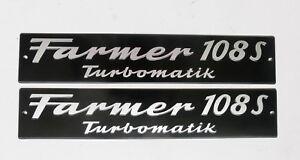 HonnêTe Fendt Bouclier Capot Farmer 108 S Turbomatik Alu Marqué-afficher Le Titre D'origine Dernier Style