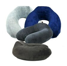 Elevated Neck Support Memory Foam U Shape Travel Pillow Airplane Cushion Mix