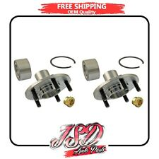 New Pair JSD Wheel Bearing Hub Assembly Front Ford Lincoln Mercury 520100 x2