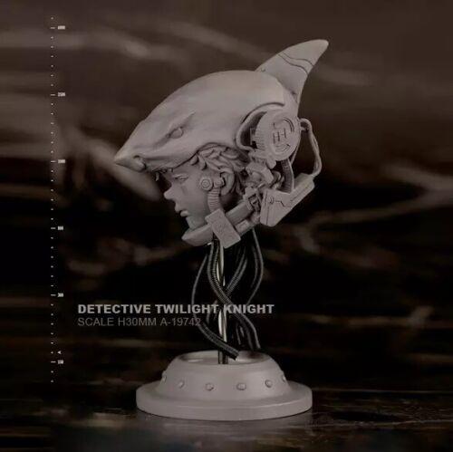 1//6 BUST Resin Figure Model Kit  Shark Helmet Juvenile Unpainted Unassambled