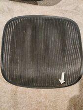 Herman Miller Aeron Chair Seat Mesh Black Pellicle With Blemish Size B Medium 202