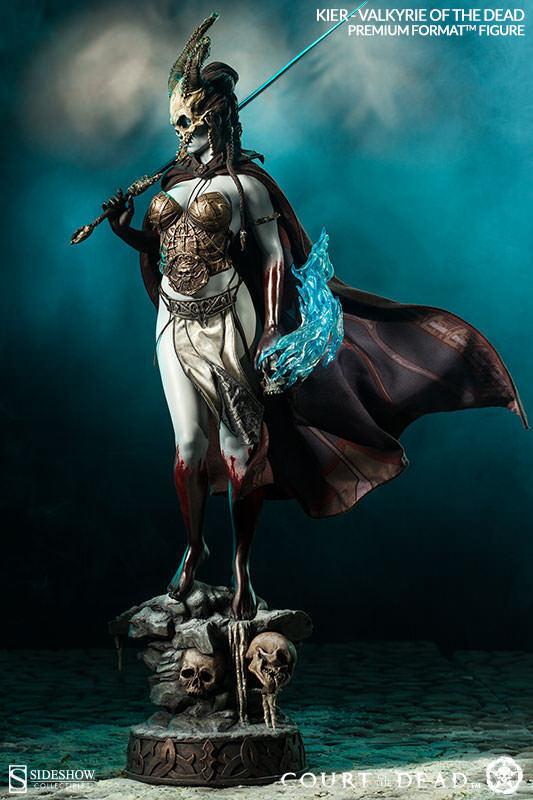 Sideshow 300372 Kier Format Figure Statue Valkyrie of The Dead Premium 55cm Toy