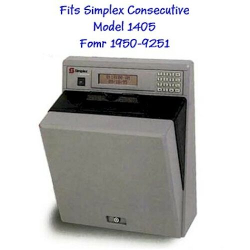 500 Time Cards for the Simplex Consecutive Model 1405 Form 1950-9251