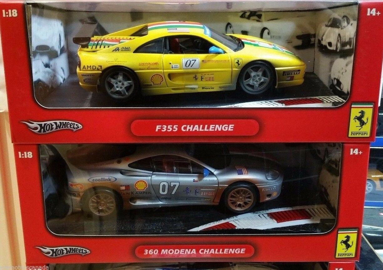 LOT OF 2 2 2 FERRARI CHALLENGE RACE CARS by HOT WHEELS DIRTY RACING FREE SHIPPING 8e67eb
