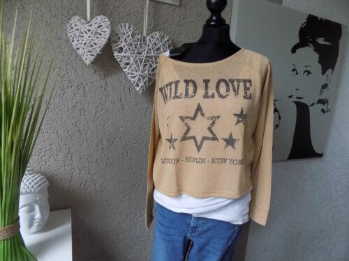 Laura scott oversize shirt stars taille 32 34 xxs neuf tunique