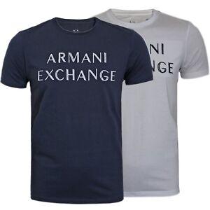 ARMANI-EXCHANGE-HOMME-A-X-Stitch-Logo-T-Shirt-S-M-L-XL-XXL-a-ete-42-00-nouveau