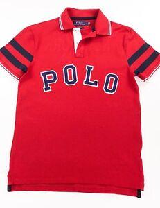 Lauren Fit personnalisé Slim Rouge Bulldog Polo Ralph rCtdxhQs