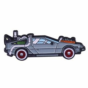 Delorean-Back-to-the-Future-Enamel-Pin