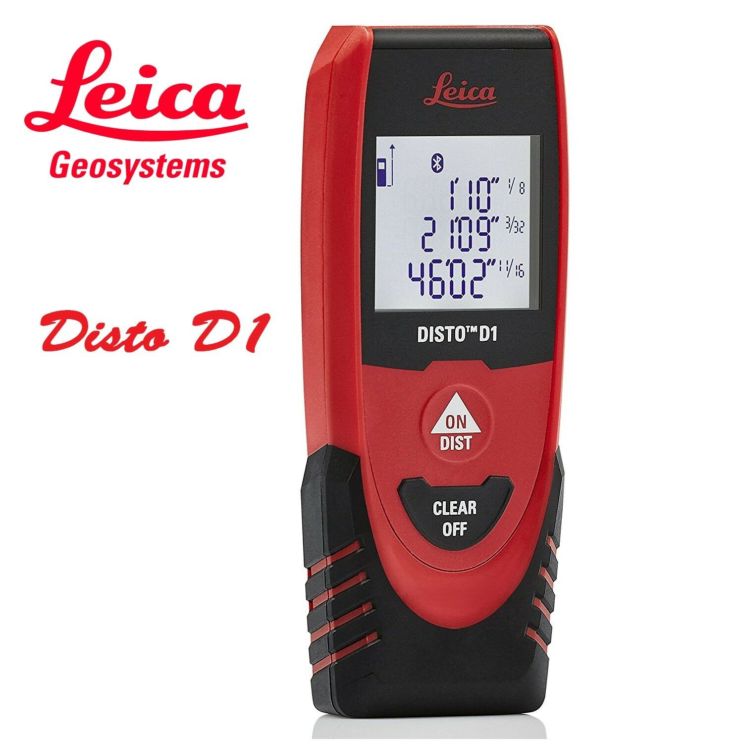 Genuine Leica DISTO D1 130ft(40mtr) Laser Distance Measure with Blautooth 4.0