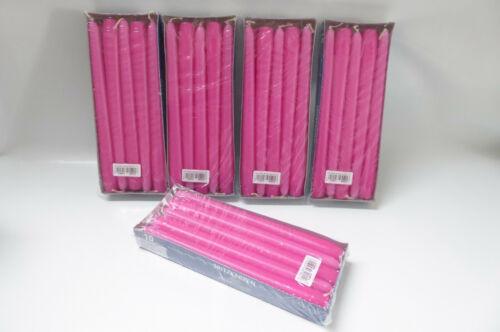 250x22mm Qualité Pointu Bougies Pointu Bougie Bougie Décoration De Table Fête # Pink 50 pcs