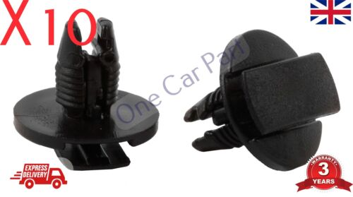 10x PEUGEOT Passaruota Fodera Undertray /& Splashguard plastica Trim Clip//Rivet