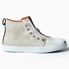 CONVERSE JP ZIPPER HI WHITE BLACK US 9 FIRST STRING 2010 JACK PURCELL DS 117868