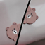 2 Funny Cartoon Bear Animal Car Sticker Anti Collision Door Guard Rub Protector