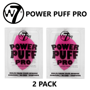 W7-Face-Blender-Sponge-Power-Puff-Pro-Conceal-Blend-Contour-2-PACK