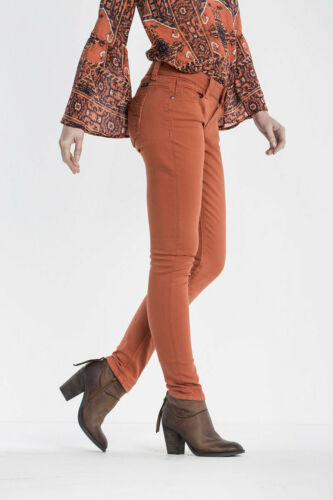 Mid Burnt Miss Jeans Mager Rise 883364754501 Orange New Me Mp9044s Size 34 17 18 Flame 1nTaq01