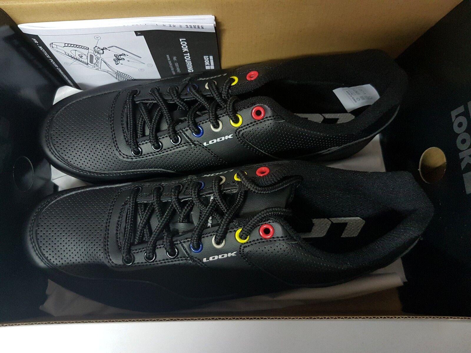 Paseo 'n Caminar City hombres Look'S Ciclismo zapatos para caminar con Botín Talla 42 Negro