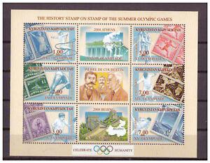 Kirgisien-Vergangene-Olympischen-Jeux-D-039-Ete-Minr-287-292-Bloc-32-2002