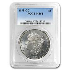 1878-CC Morgan Silver Dollar - MS-63 PCGS