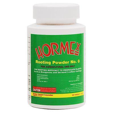 Hormex Rooting Powder No. 8 - 3/4 oz - .75oz -  Root Growth Hormone Stimulant