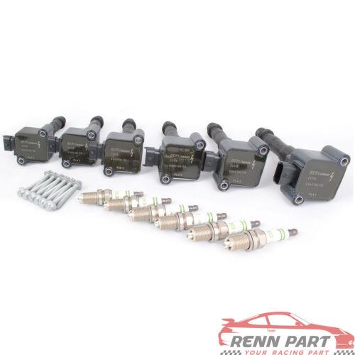 Porsche Ignition Coil and Spark Plug Set Carrera 99-01 Boxster 00-04