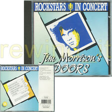 """JIM MORRISON THE DOORS """"ROCKSTARS IN CONCERT"""" RARE CD LIVE OUT OF PRINT"""