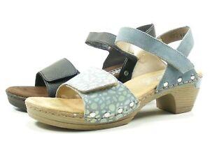 the sale of shoes buy sale special for shoe Details zu Rieker 66863 Schuhe Damen Plateau Sandalen Clogs