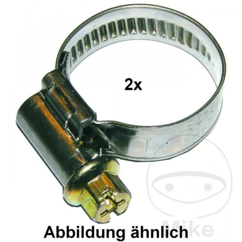 Dresselhaus Jubilee Hose Clamp Stainless Steel 25-40MM 9MM x2pcs 4044325642503
