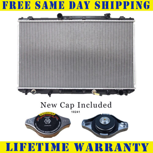Radiator With Cap For Toyota Fits Camry 2.2 L4 4Cyl 1318WC
