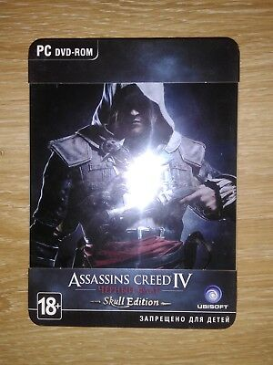 Assassin S Creed Iv Black Flag Skull Edition Russian Version New